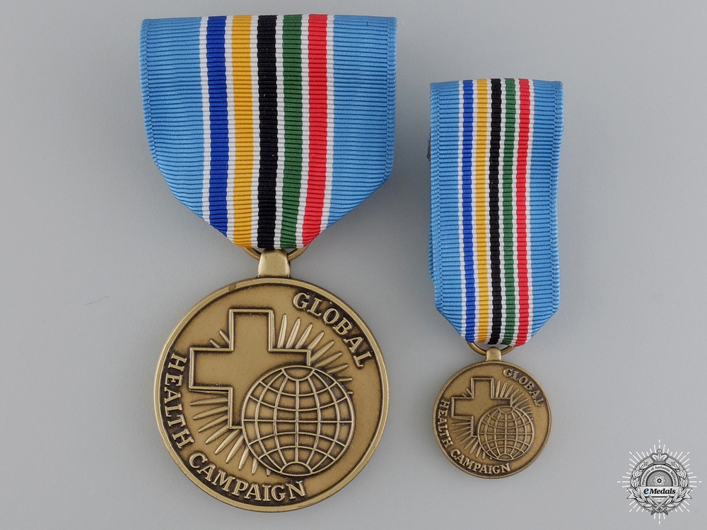 An American Public Health Service Global Health Campaign Medal