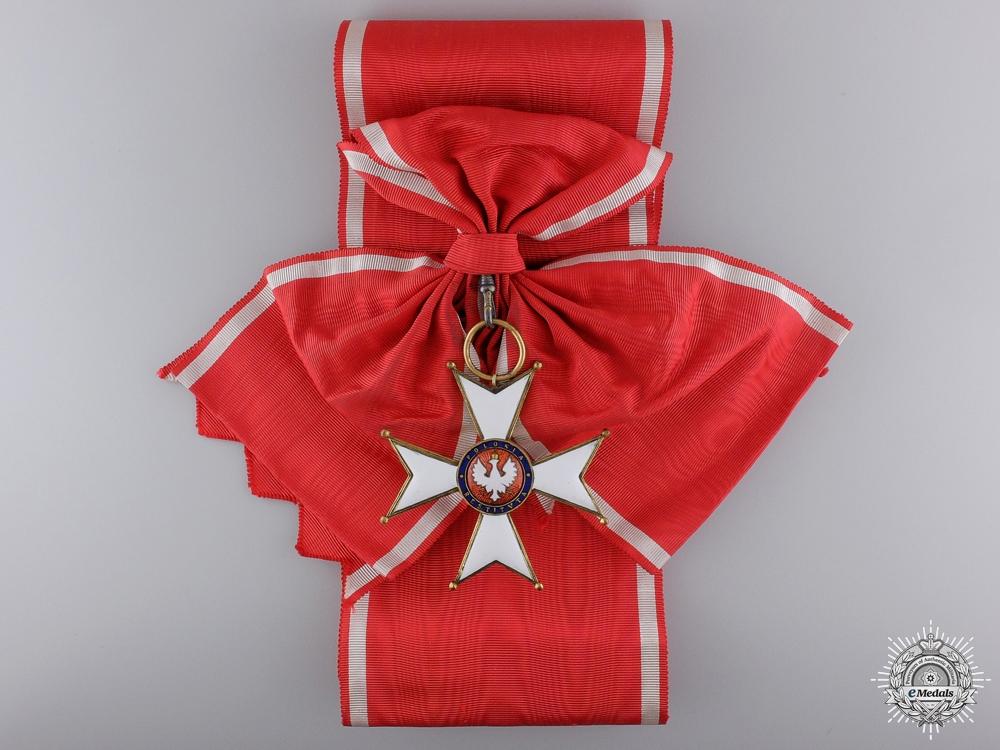 A Polish Order of Polonia Restituta; Grand Cross