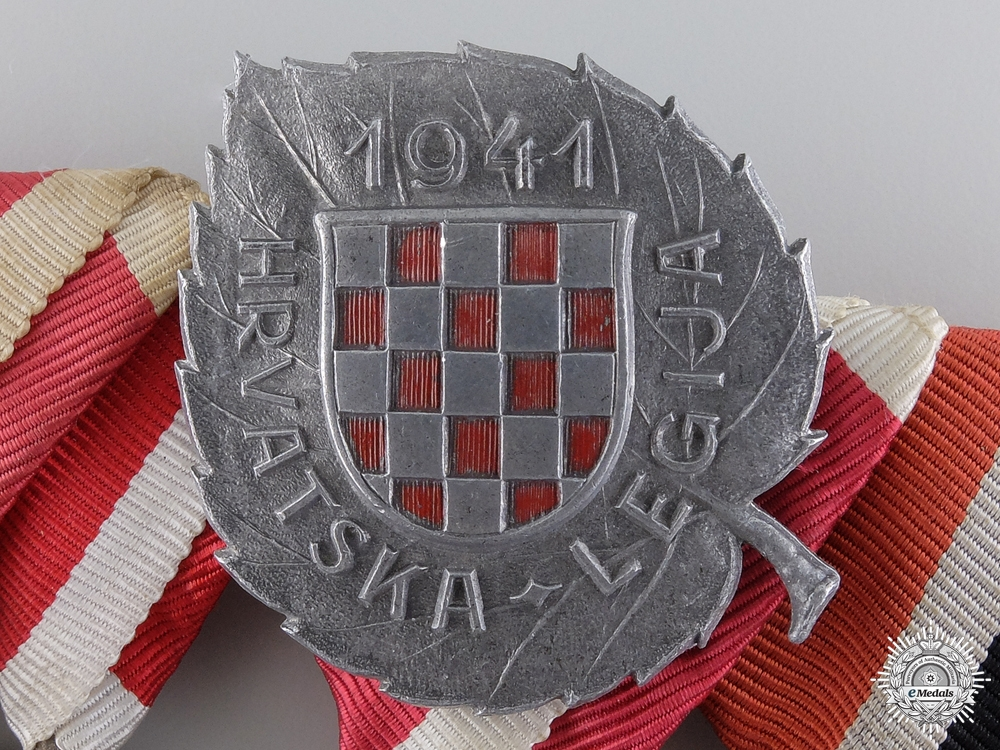Croatia. A Fine Second War Group to the 369th Regiment