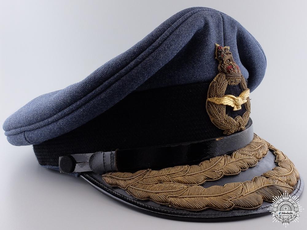 A Second War Royal Air Force (RCAF) Air Vice Marshall Visor