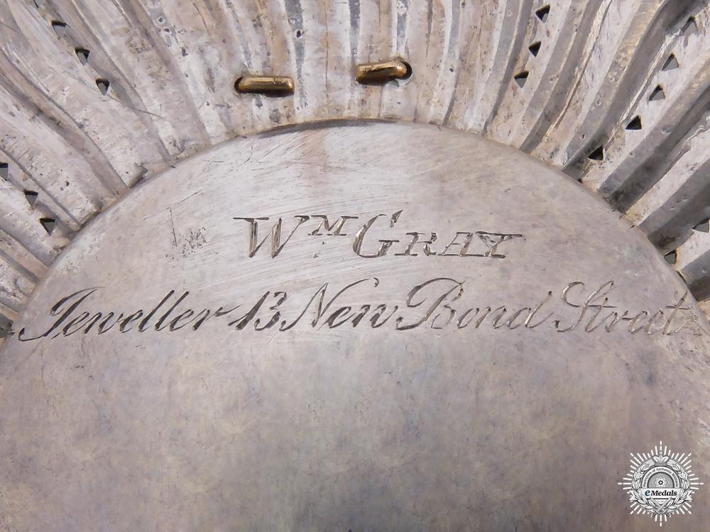 A Late Georgian Most Honourable Order of the Bath; G.C.B. (Military)