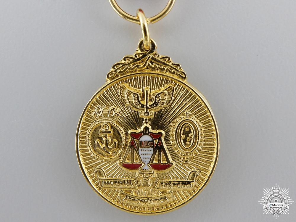 A Brazilian Order of Judicial Military Merit
