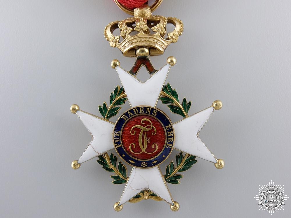 A Baden Military Karl Friedrich Merit Order; Knights Cross