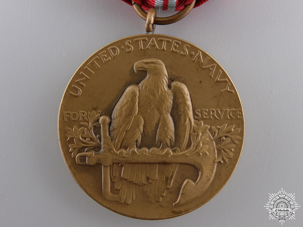 A US Navy Second Nicaraguan Campaign Medal 1926-1933 with Box