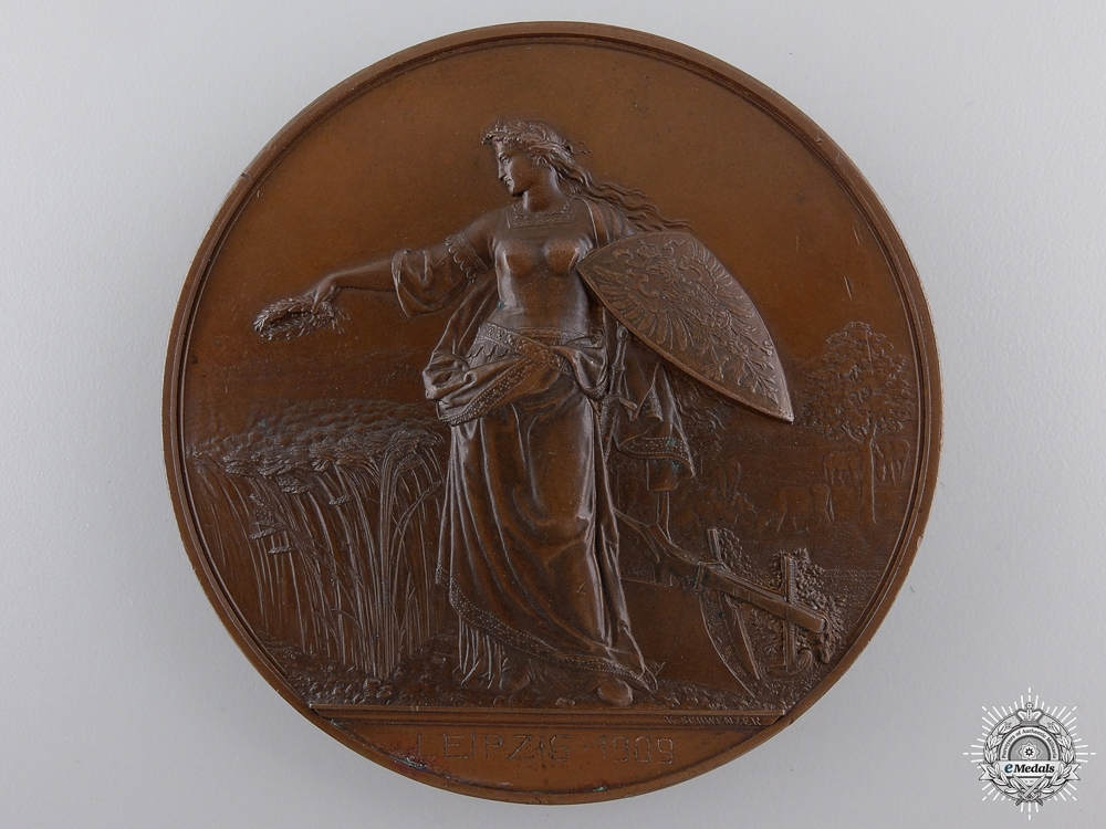 A 1909 Germany Agricultural Society Merit Award