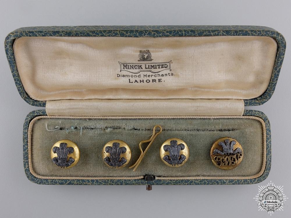 A South Lancashire Regiment Officer's Button Set