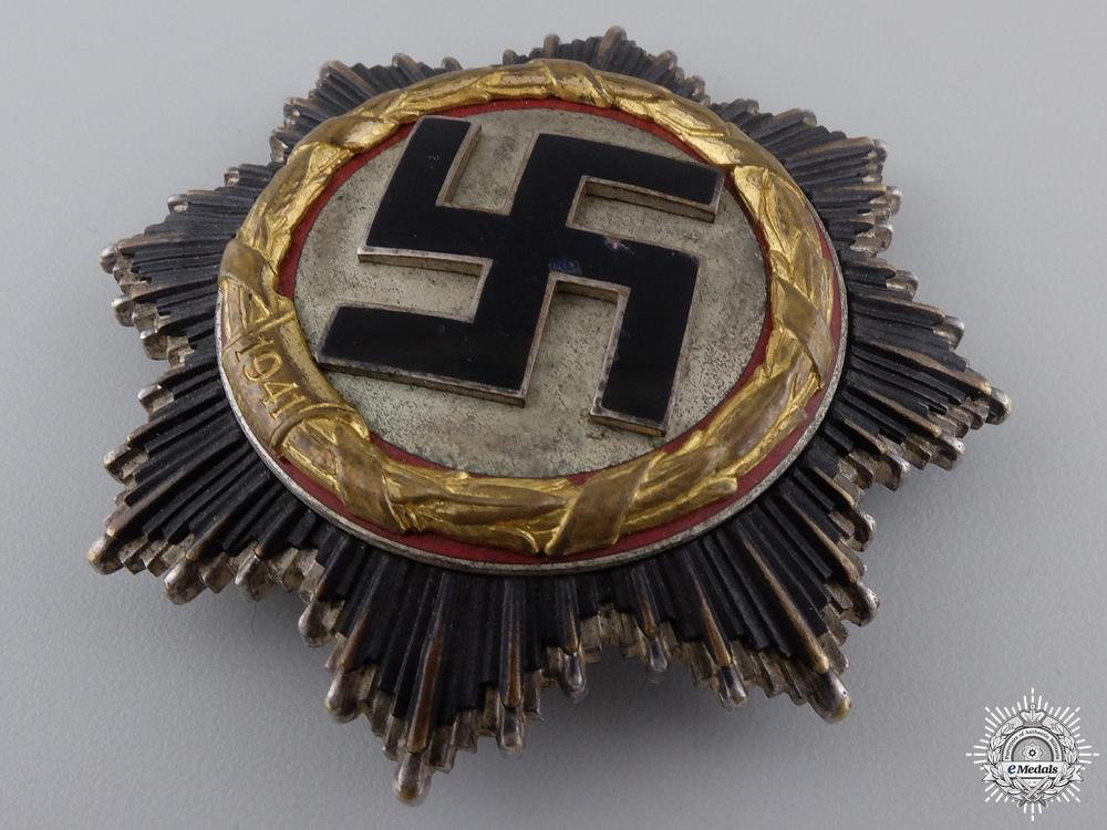 A German Cross in Gold by Gebrüder Godet & Co; Heavy Version