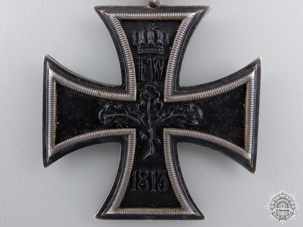 An Iron Cross 2nd Class 1870 by Godet with Jubilee Spange