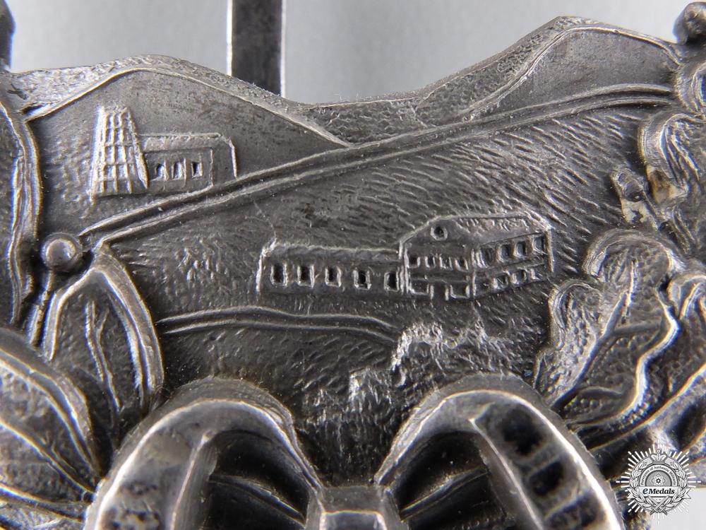 A First War Bavarian Pilot's Commemorative Badge by C. Pöllath