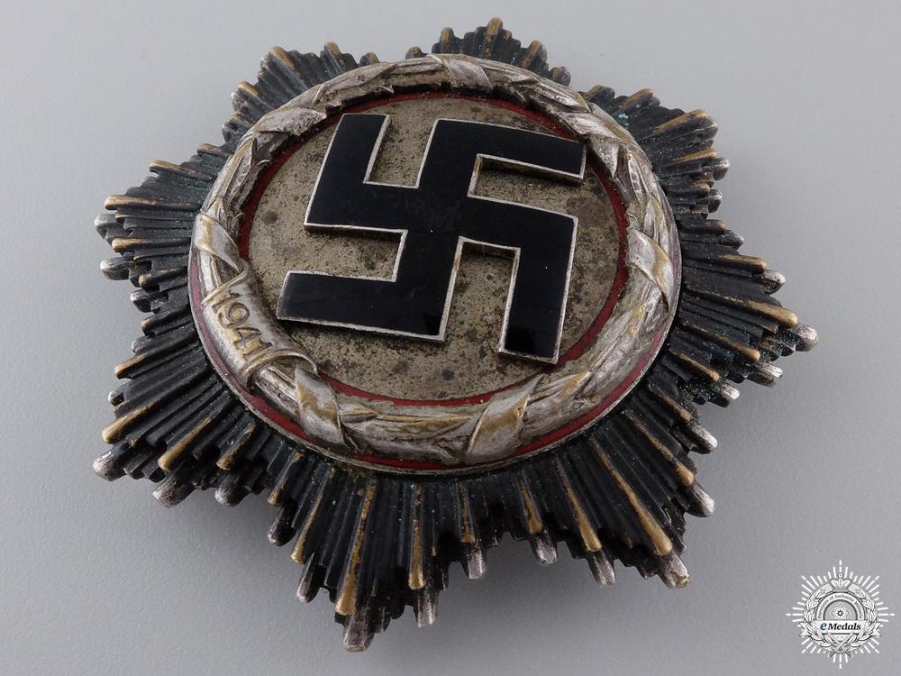 A Rare German Cross in Silver by Deschler