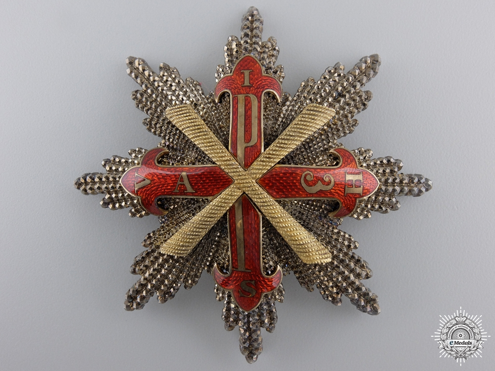 An Order of Constantine of St.George Attributed to Count Dietrichstein