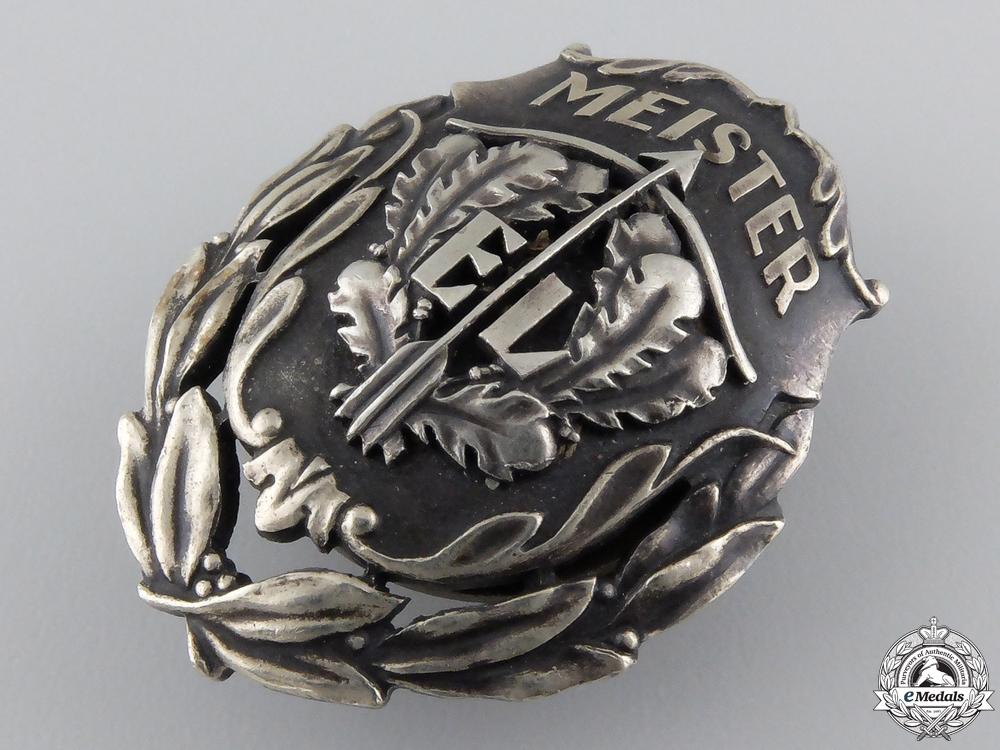 An Estonian Sharp Shooter's Champion Badge