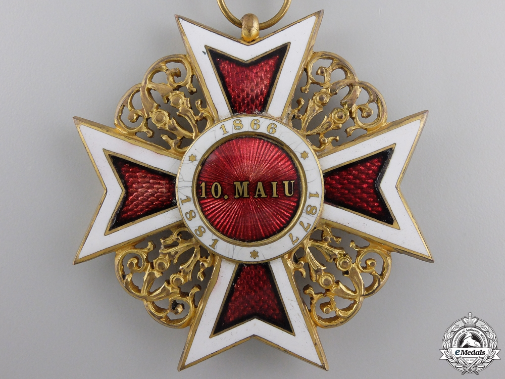 An Order of the Romanian Crown; Commanders Cross
