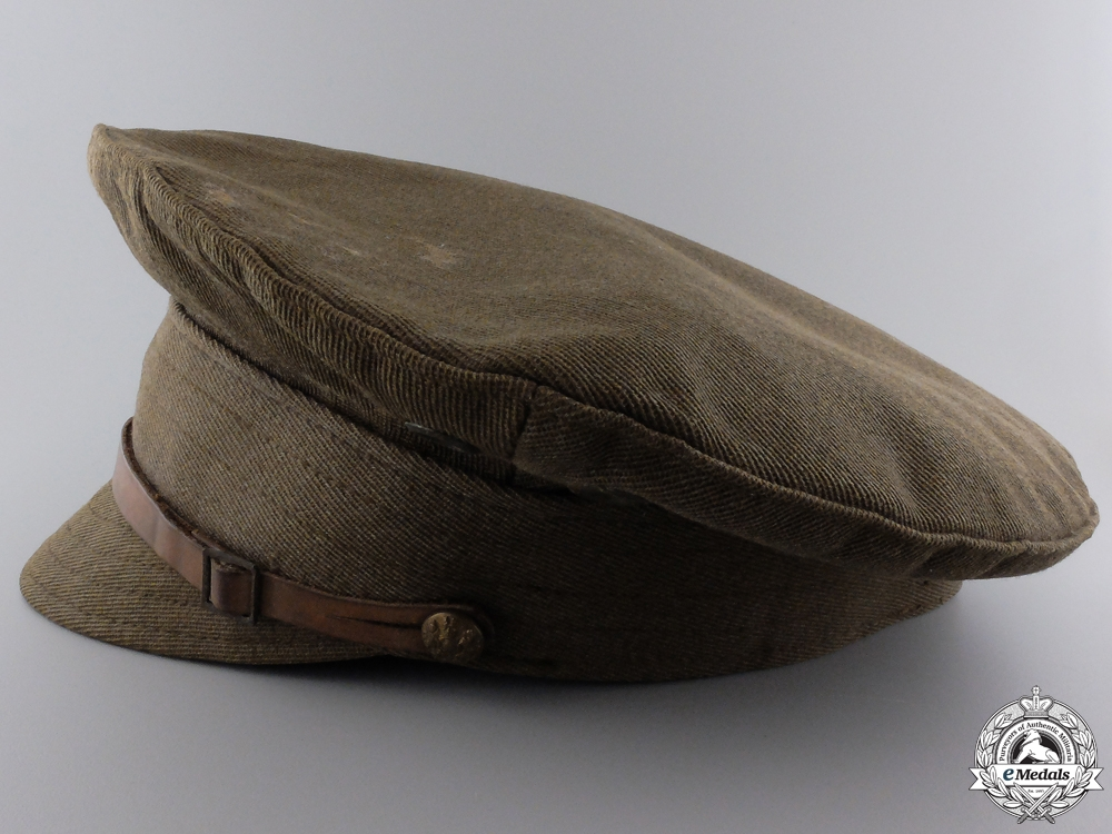 A First War Canadian Trench Cap; 7th Battalion CEF  Consignment #4