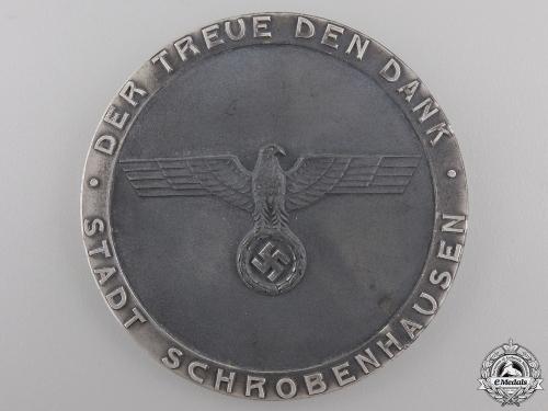 A German Civic Faithful Service Award with Case