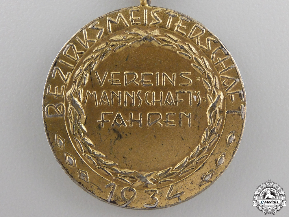 A DRV District Champions Medal