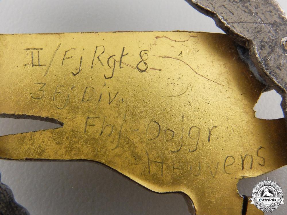 A Fallschirmjäger Badge by Steinhauer & Lück to the II/FJ Rgt. 8