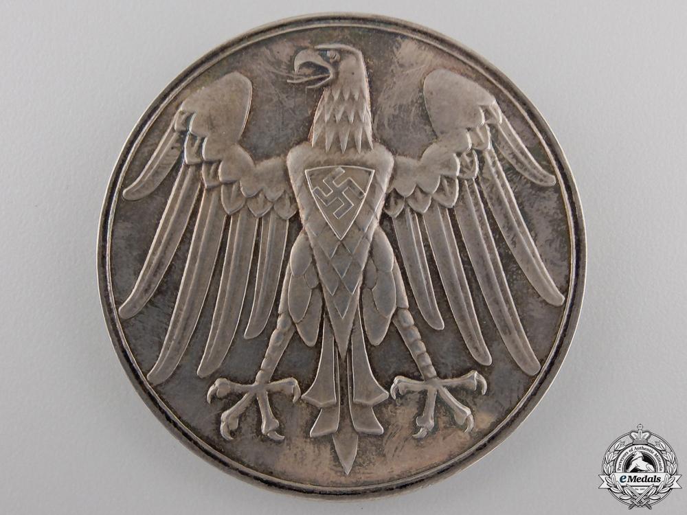 An NSDAP Silver Life Saving Medal with Case