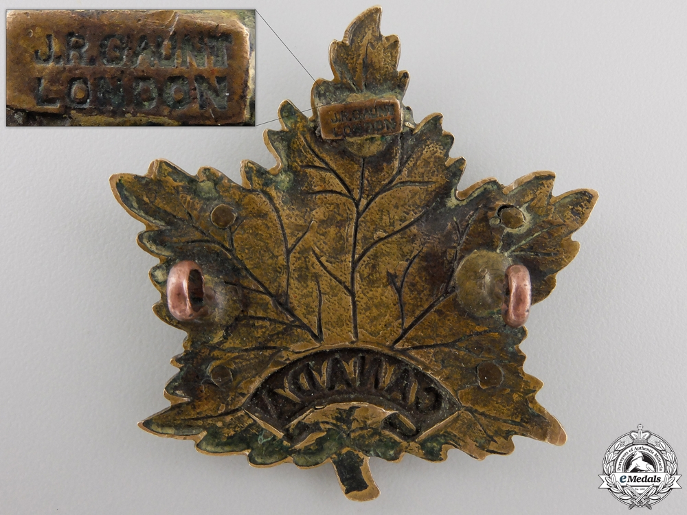 A Scarce First War Eaton's Motor Machine Gun Battery Cap Badge