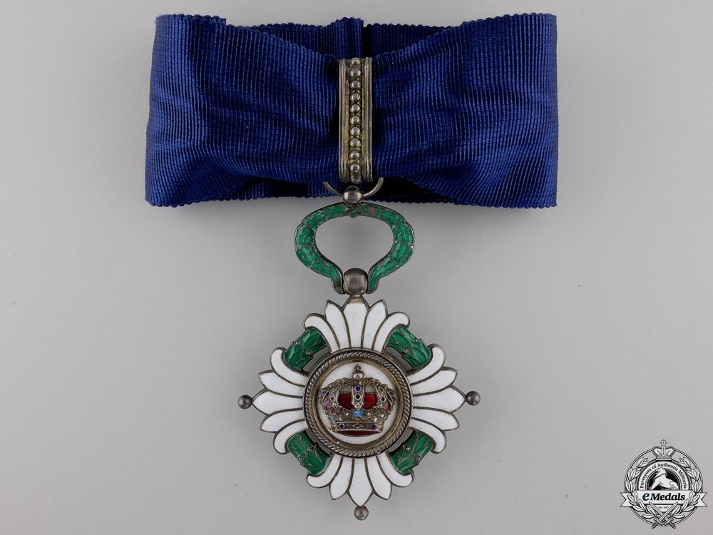 A Yugoslavian Order of the Yugoslav Crown; 3rd Class, Commander