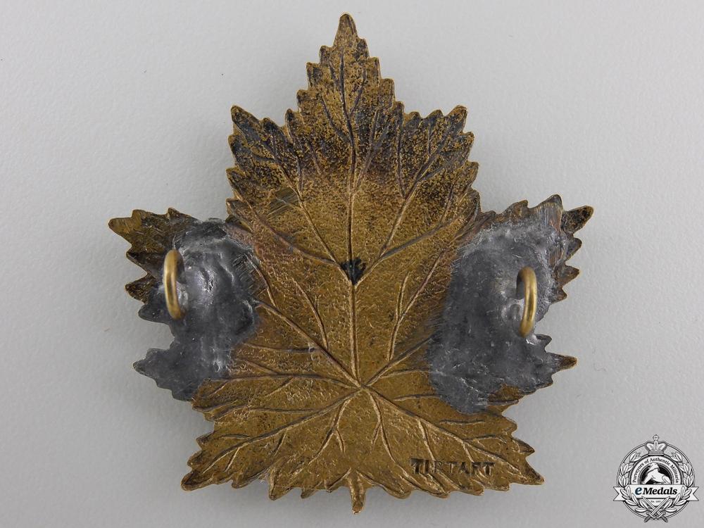 "A First War 2nd Battalion ""Eastern Ontario Regiment"" Cap Badge"