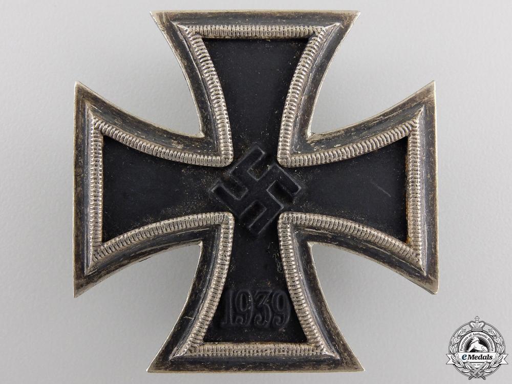 A Second War Iron Cross First Class 1939 by Meybauer, Berlin
