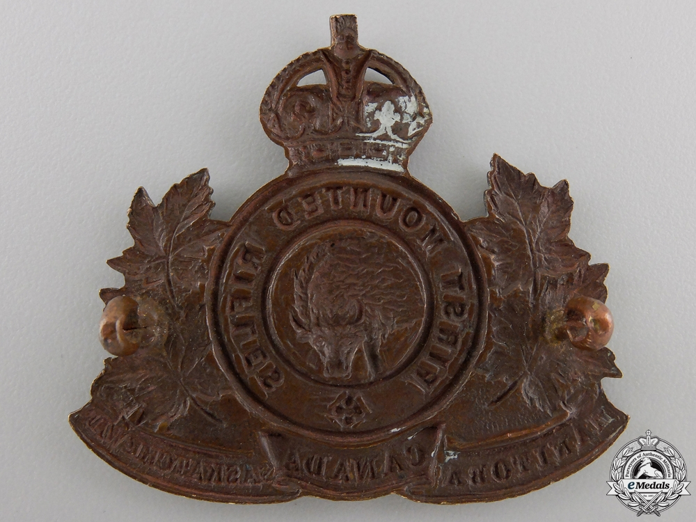 A First War 2nd Mounted Rifle Battalion Cap Badge