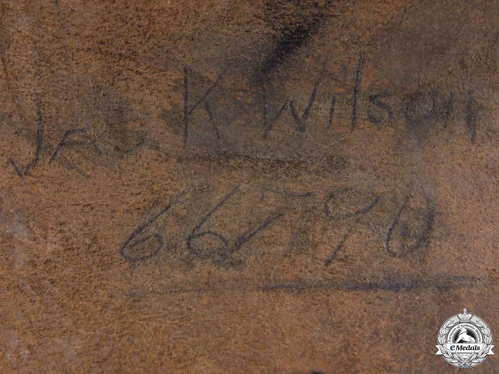 A First War Officer's Holster to Lieut. Paul Greey CEF