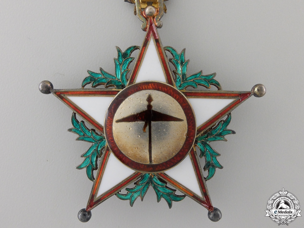 A Moroccan Order of Ouissam Alaouite; Commander's