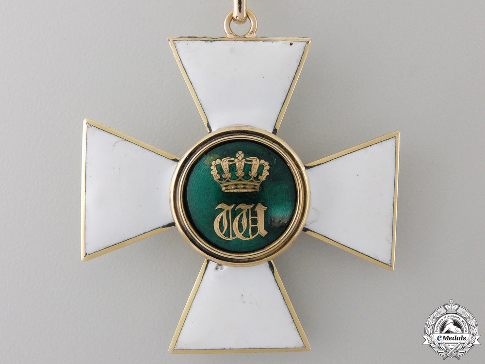 An Order of the Oak Crown of Luxembourg; Grand Officer c.1875