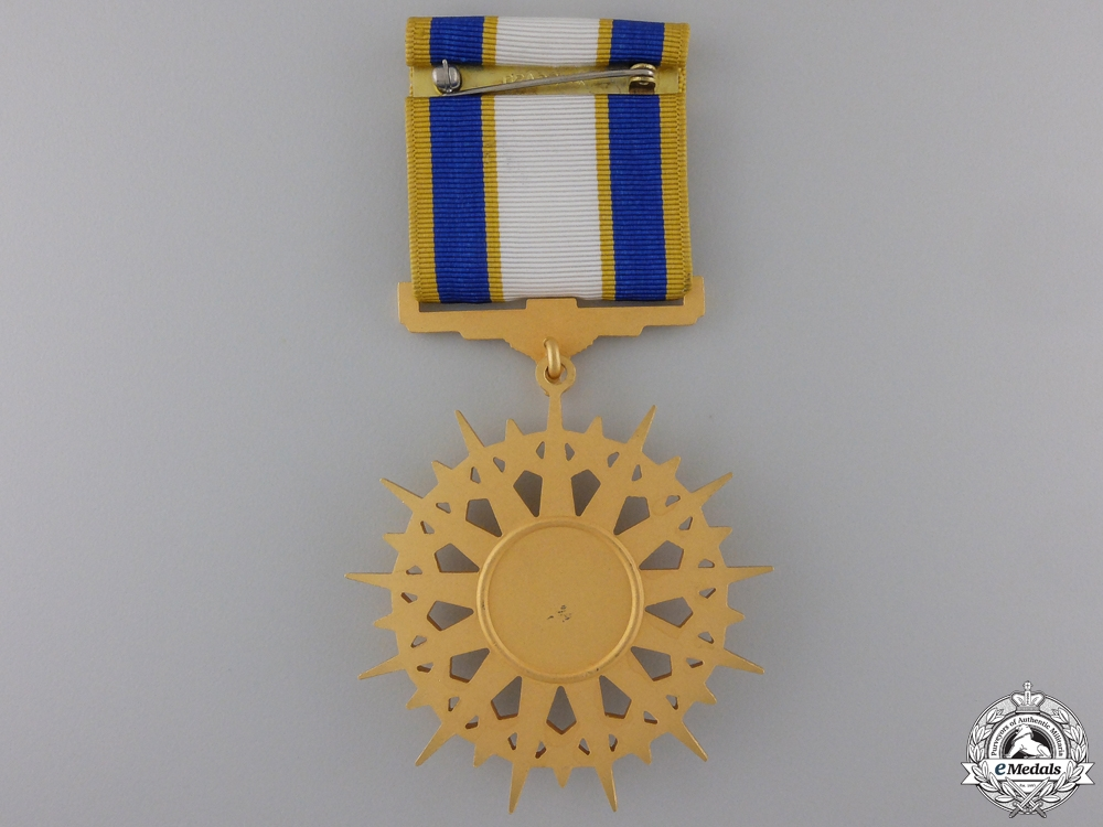 An American Air Force Distinguished Service Medal