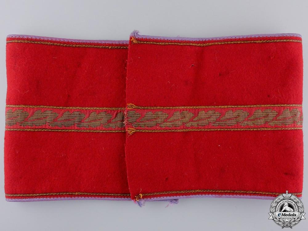 An NSDAP Ortsgruppe Zellenleiter and Hauptbetriesobmann Armband