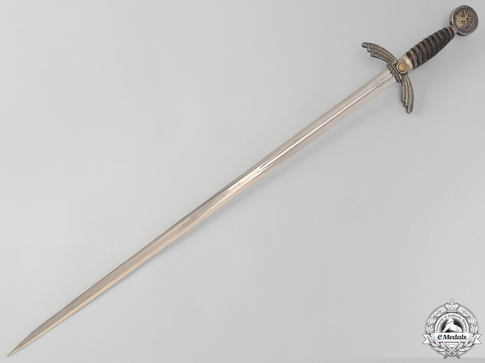 An Early Luftwaffe Sword by E. & F. Hörster & Company, Solingen