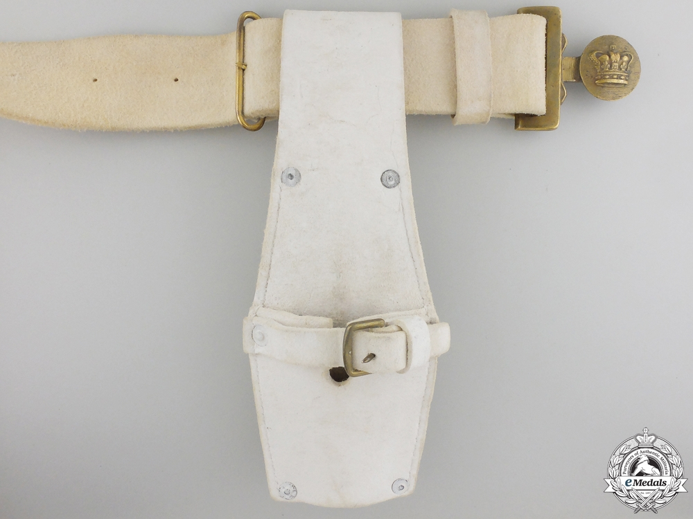 A Canadian Militia 1867 Buff Leather Infantry Belt