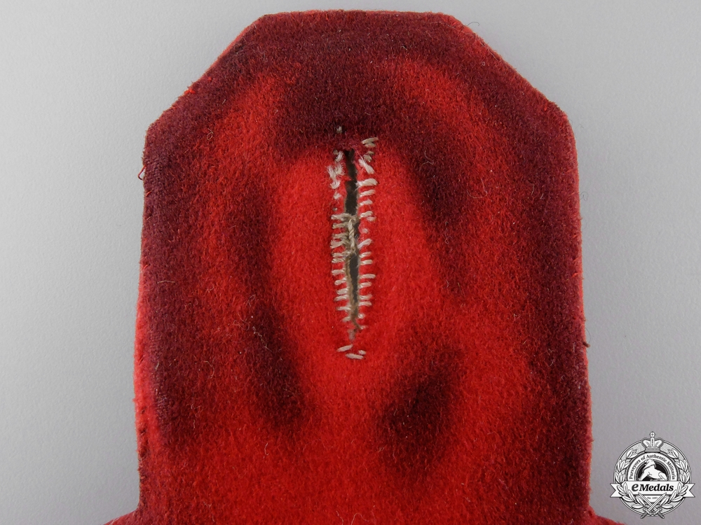 A Pair of 162nd (3rd Hanseatic) (Lübeck) Infantry Epaulettes 1915