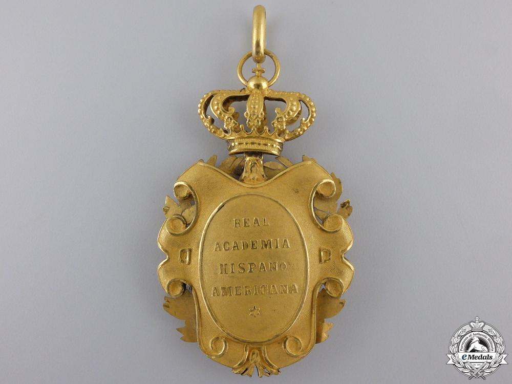 Spain, Kingdom. A Hispanic American Royal Acedemy of Cadiz Award, c.1910