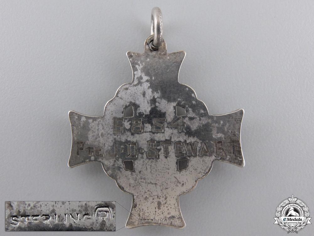 A First War Memorial Cross to the First Ontario Regiment