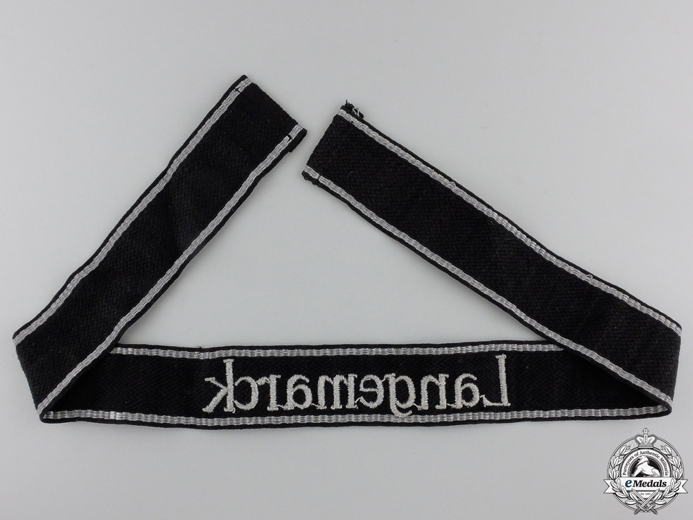 """A Waffen-SS """"Langemarck"""" RZM cufftitle"""