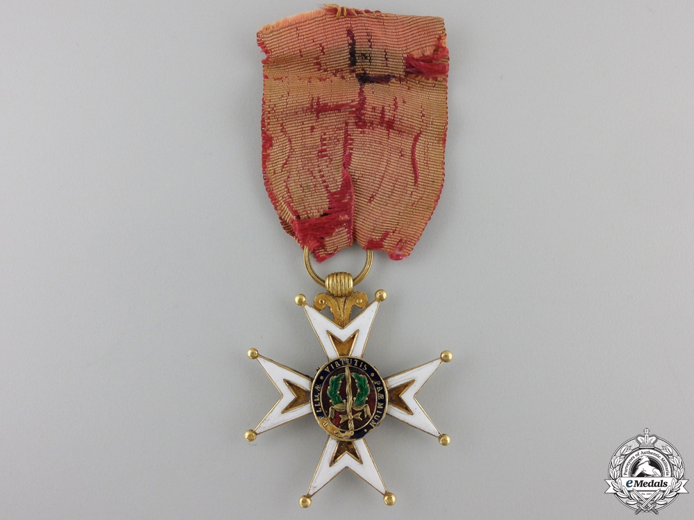 An Early French Order of St. Louis in Gold; circa 1800