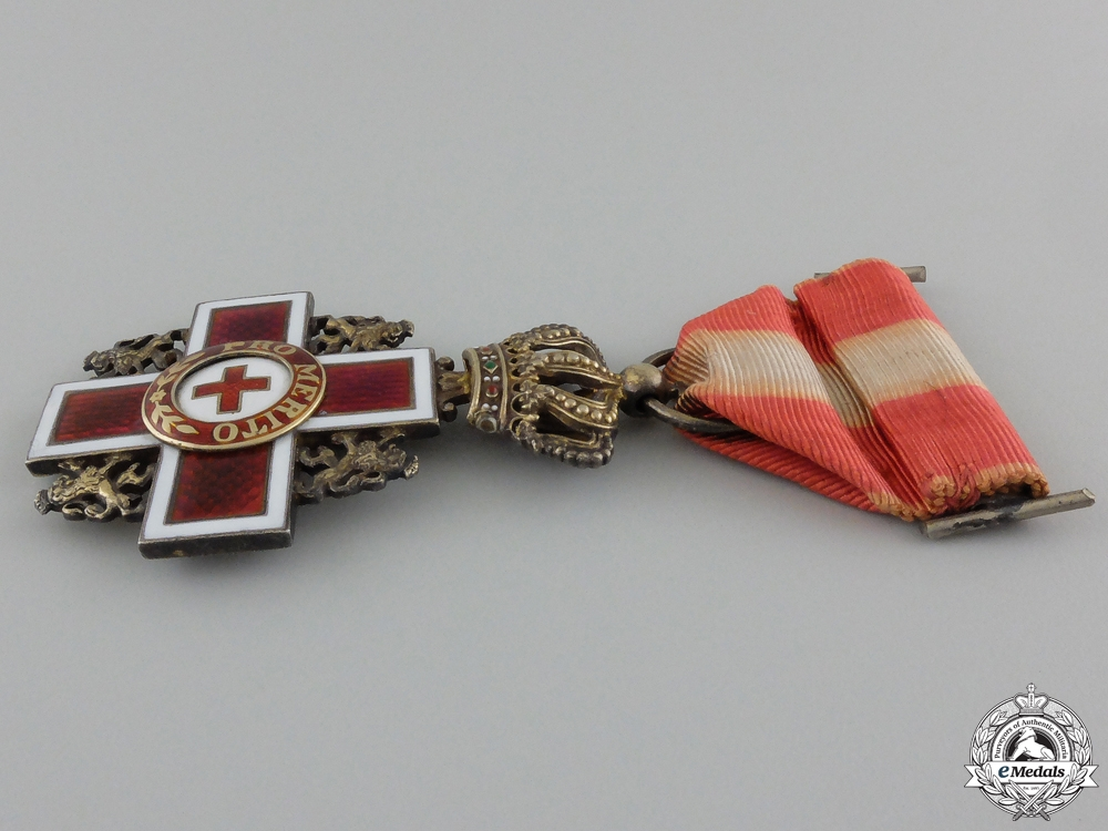 A Dutch Cross of Merit of the Red Cross