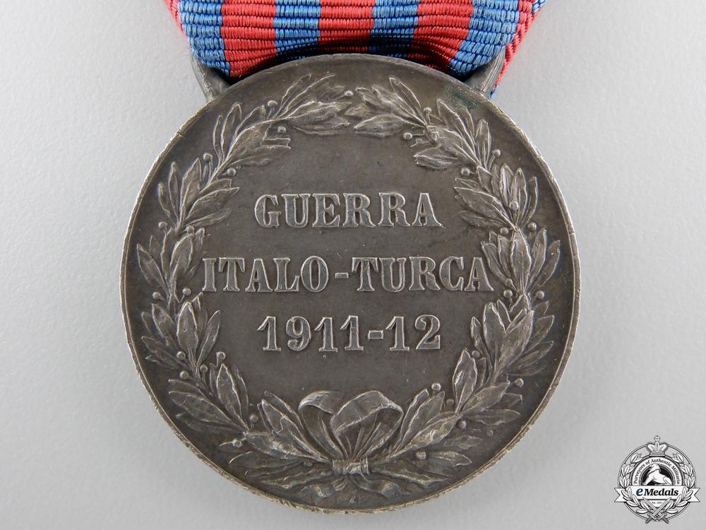An Italo-Turkish War Medal 1911-1912