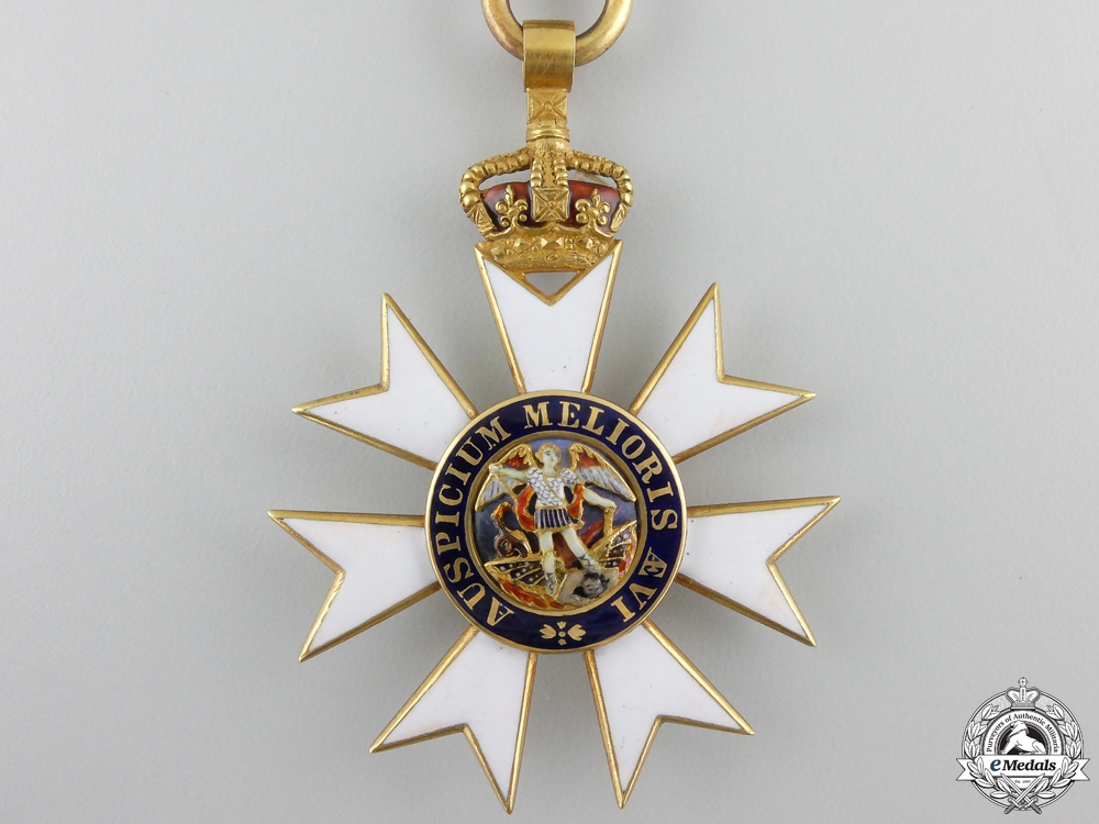 An Order of St.Michael & St. George (C.M.G.); Companion in Gold