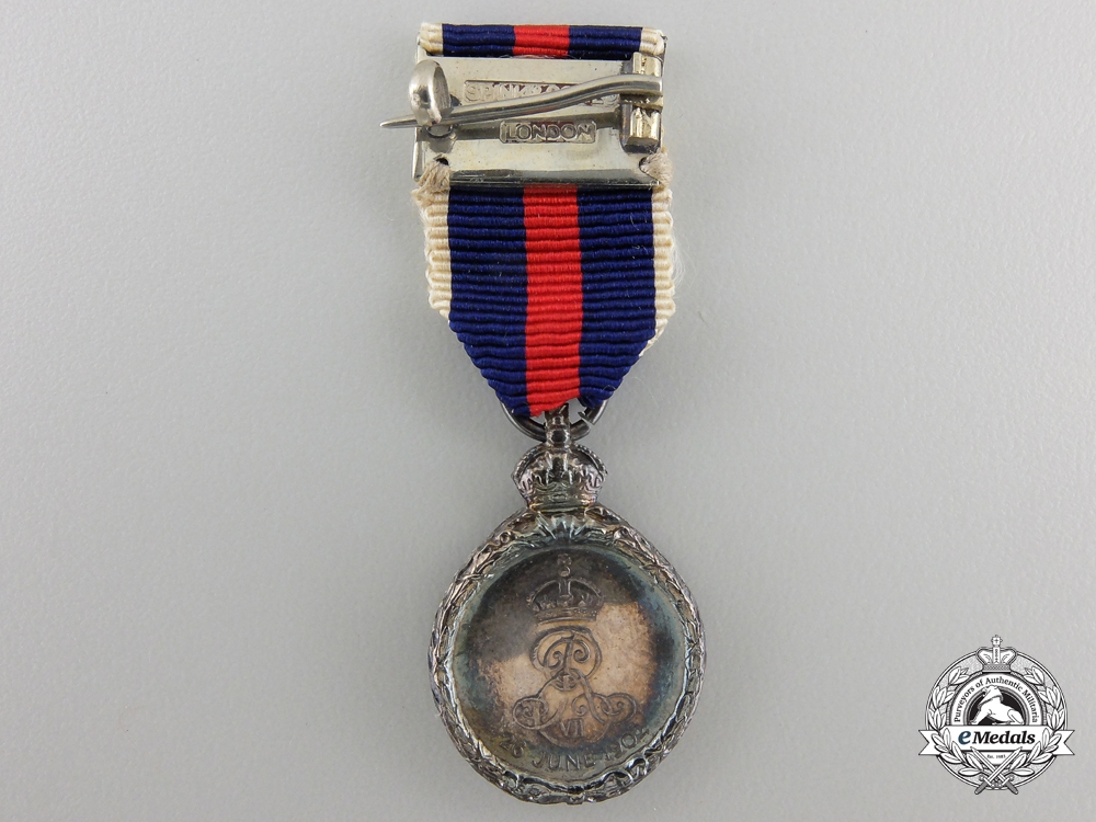 A Fine Miniature 1902 Coronation Medal with Case