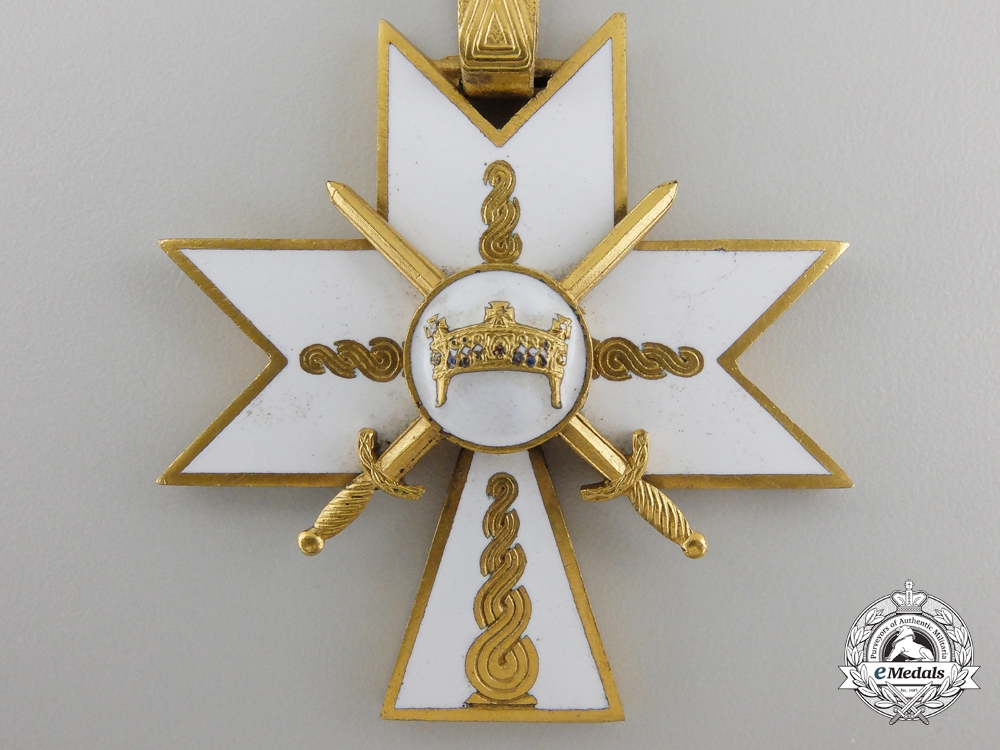 A Croatian Order of King Zvonimir 1941-1945; 1st Class with Swords