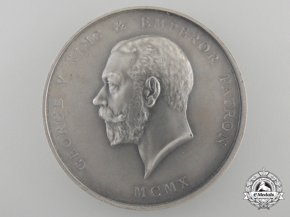 A 1930 Royal Society of Arts Manufacturers and Commerce Award Medal