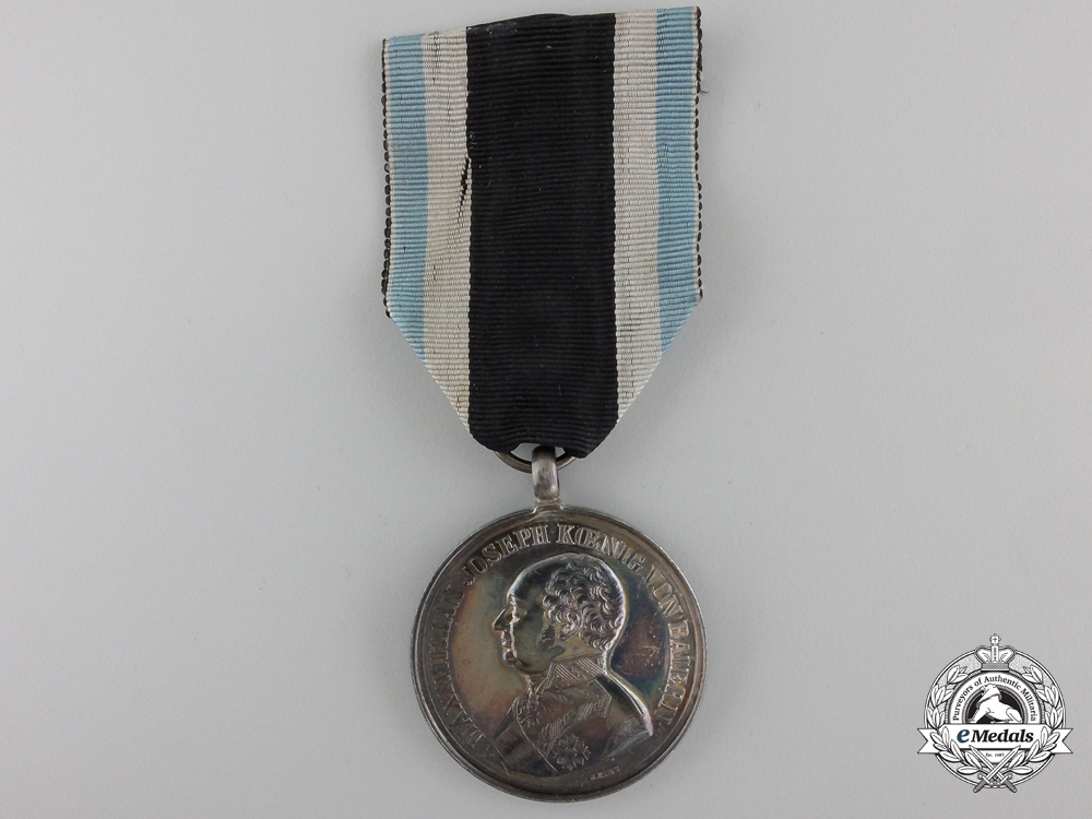 A Bavarian Silver Military Merit Medal - Minty
