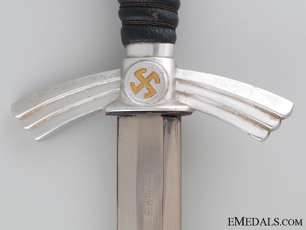 A 1st Model Aluminum Luftwaffe Dagger by Tiger