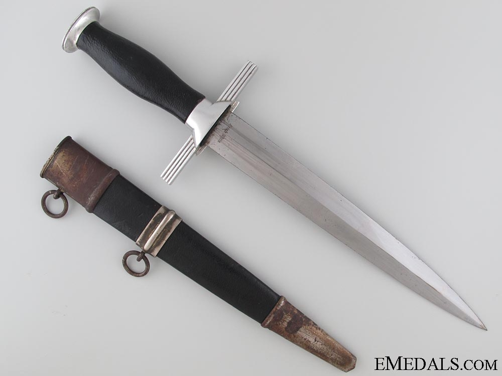 2nd Model RLB Officer's Dagger by Erich Witte