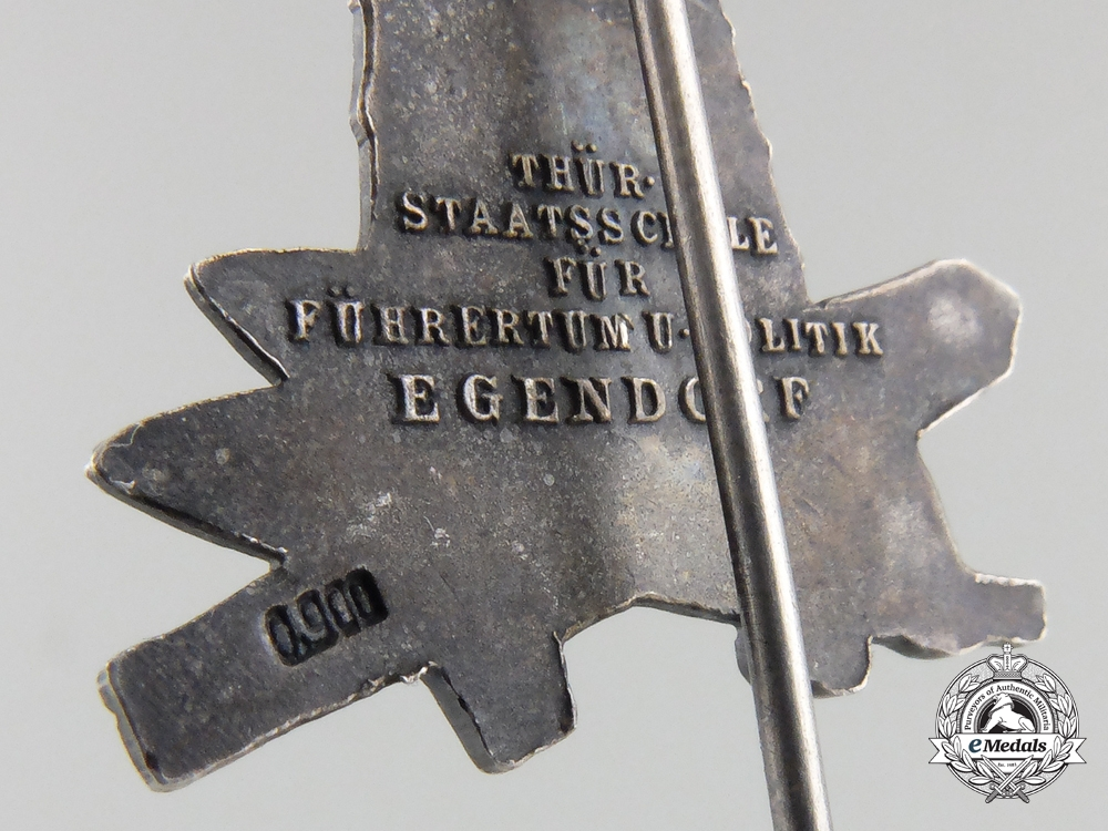 An NSDAP School Egendorf Leaders Badge