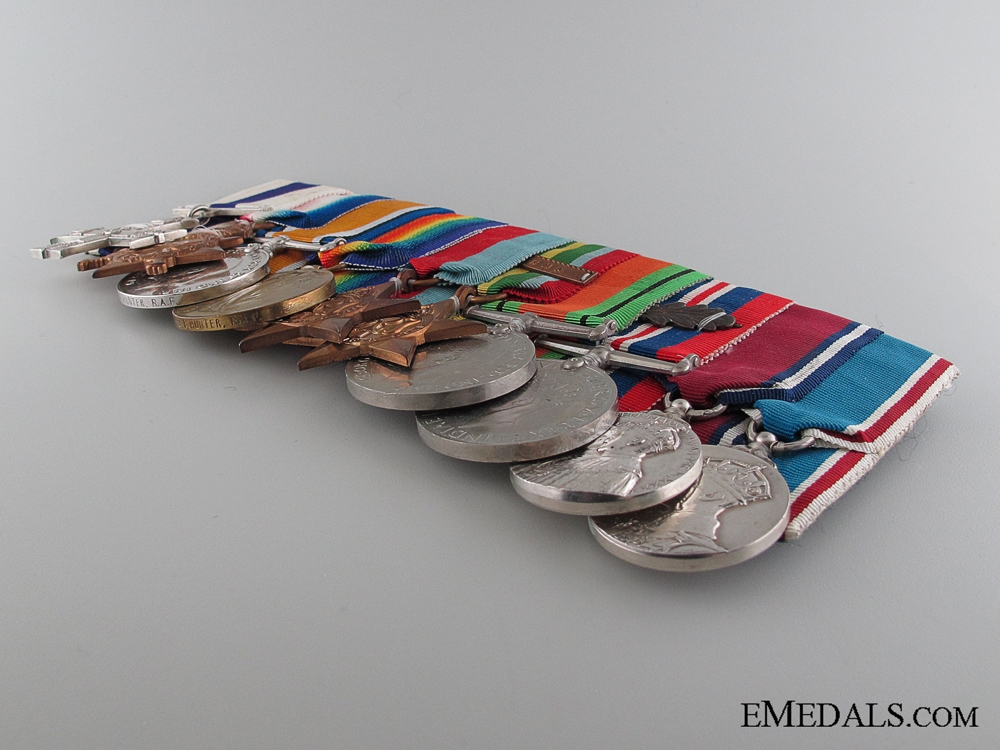 The Valourous Medal Bar of Air Commodore Hunter